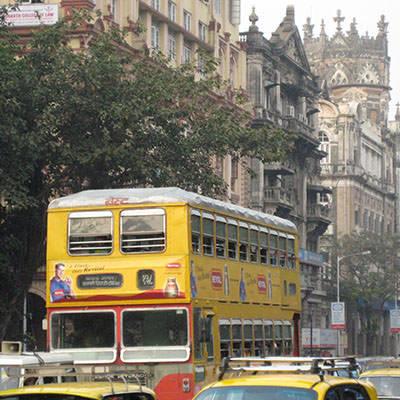 Mumbai Streetscape Sq