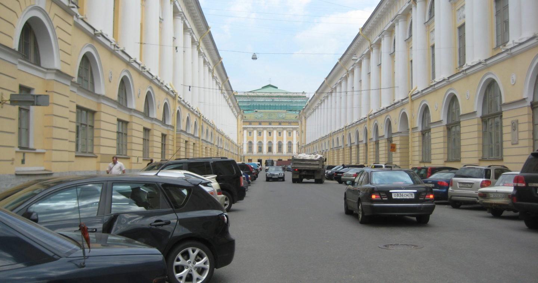 Petersburg Cityscape Iii